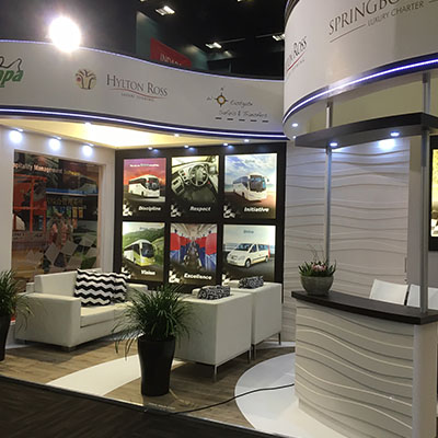 Hylton Ross stand at the 2016 Indaba