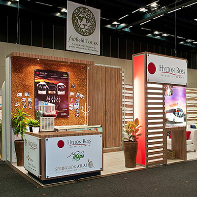 Hylton Ross stand at the 2015 Indaba