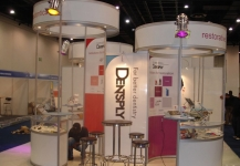 Dentsply exhibition stand build