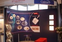 Codman exhibition stand build