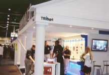 TRIbpt expo stand with client area