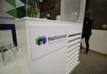 Mallinckrodt Pharmaceuticals portable stand