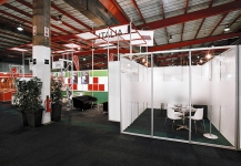 Italian Trade Commission stand during Interbuild 2008