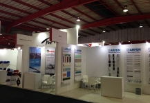 Stand built for Turkey for Africa Health 2016