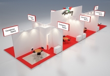 Stand design for Turkey for Africa Health 2016