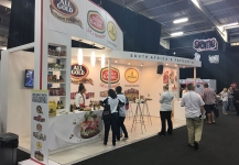 Live demonstrations and food tasting at expo stands